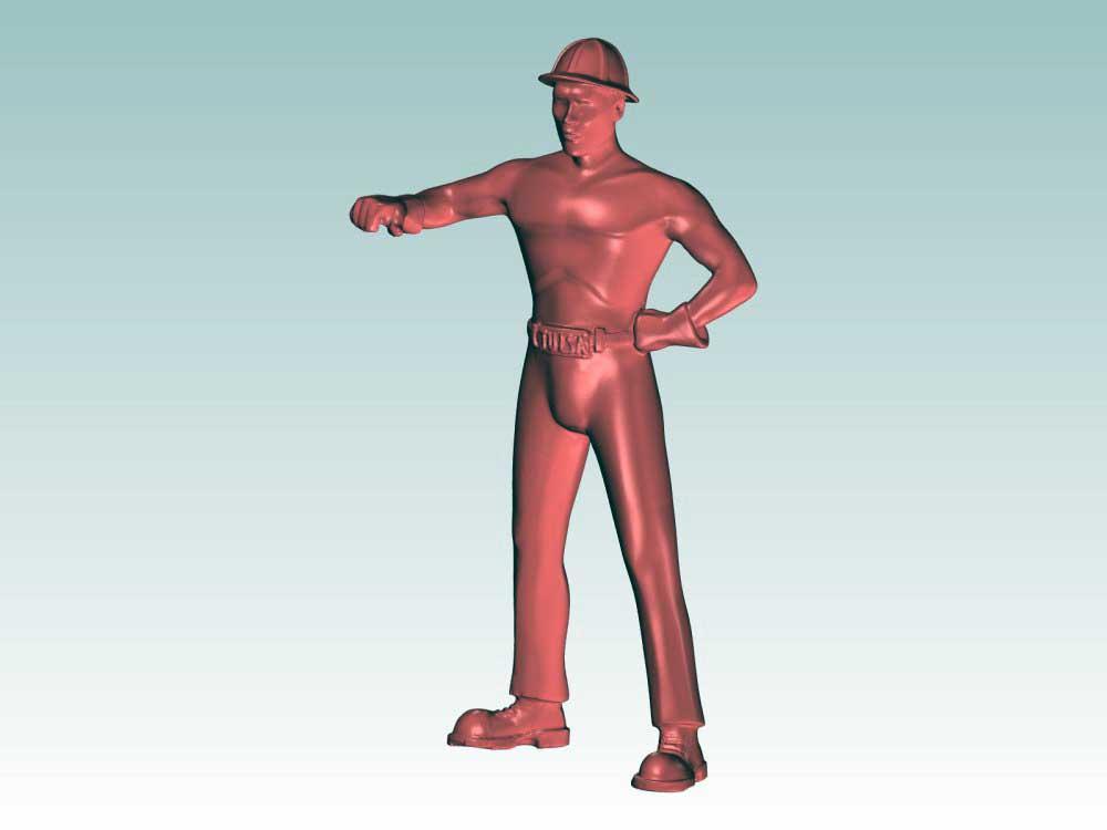 Numérisation 3D d'une sculpture