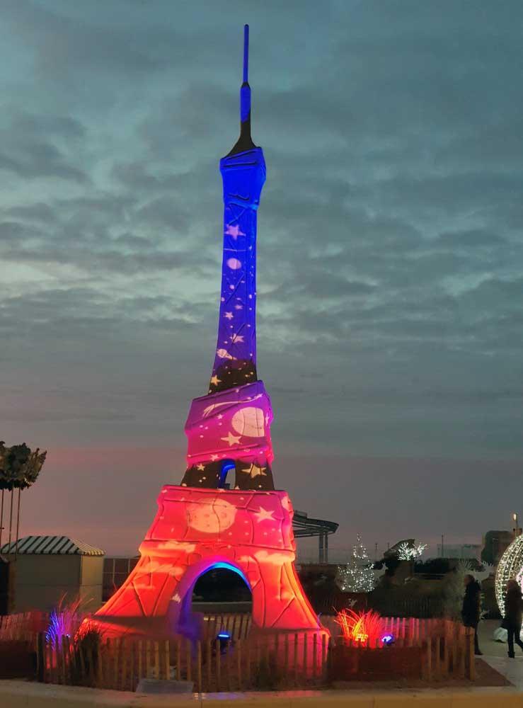 Tour Eiffel Alain Godon - Résultat après agrandissement - Le Touquet Paris-Plage